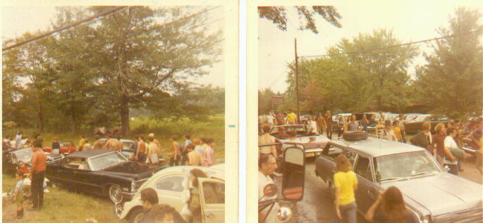 Getting to Woodstock 1969