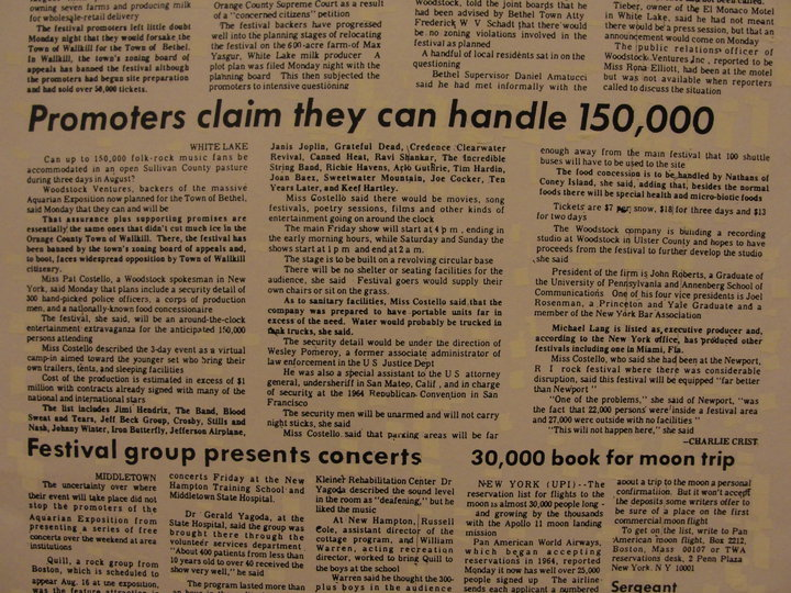 Times-Herald Record July 22, 1969